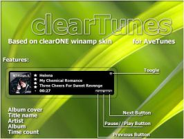 clearTunes for AveTunes by hellcrawler