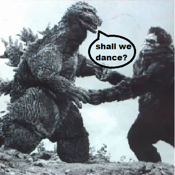 Big G and King Kong have a dance by K13-ZAR