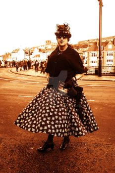 Billowing skirt by MagicPeter