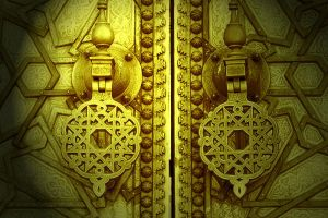 the door of paradise by larage4peace