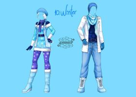 Fashion Challenge 10: Winter by Geminine-nyan