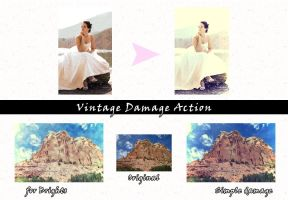 Vintage Damage Actions by Maryanne007