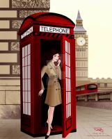 Phone Box by TheSwanMaideN
