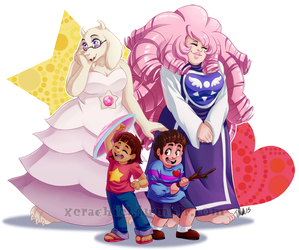 Undertale Universe by MetalPandora
