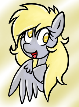 Just Derpy by DevilEnvy