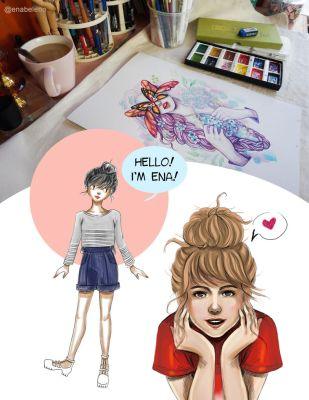 Hello I'm ENA by enabeleno