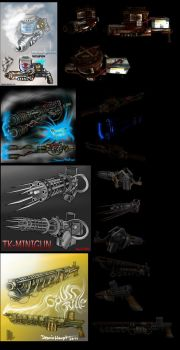 crazy weapon collection 1 by DennisH2010