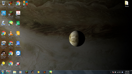 Windows 7 Desktop: Europa over Jupiter by jcpag2010