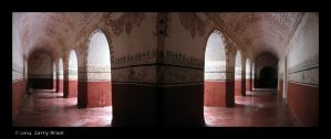 Cloister - Tepoztlan, Mexico by inessentialstuff