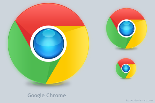 Google Chrome New Logo _Redo by ituxxx