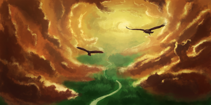 Serenity in the Sky by GodZmc