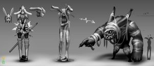 White Rabbit concepts 001 by dinmoney