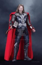 Thor (Concept Art - Version 2) by FerPeralta