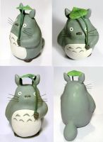 Totoro Painted by vrlovecats