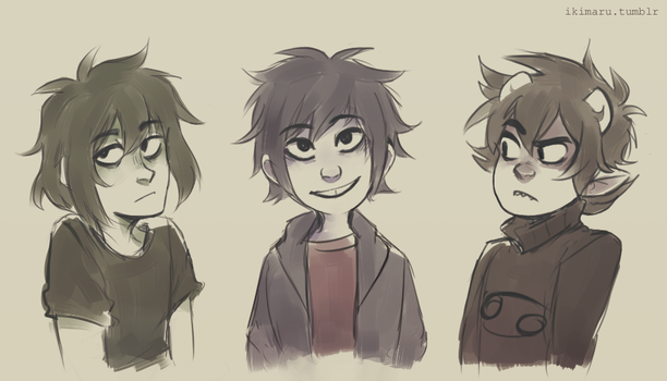 ''short and with dark hair'' squad by ikimaru-art