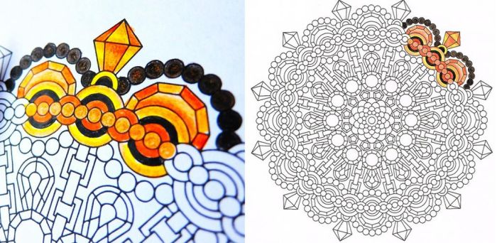 Candy Hippie 2 0 Tiger Eye Coloring Page To Print By