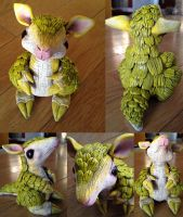 Realistic Pokemon Sandshrew sculpture - SOLD