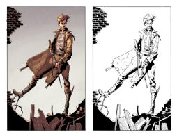 Peter Panzerfaust Issue 1 page 5 by alexsollazzo