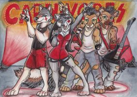 Carnivores by shiverz