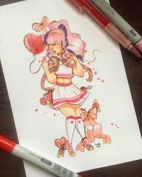 Hearts and Bows by Frenkle