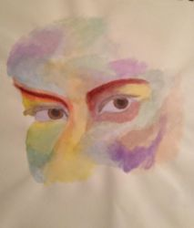 Water Colors Watching You by Artist-on-Board