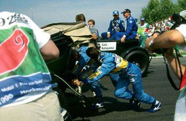 1995 German Grand Prix Drivers' Parade by F1-history