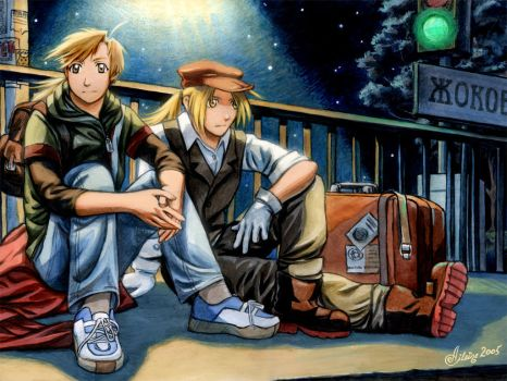 FMA: Lonely station... by Aileine