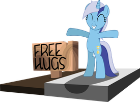 Minuette wants a Hug by TehAwesomeFace