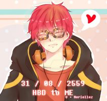 707 - HBD to me! by U-topiaz