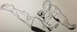 The king of Mui thai by yuoma