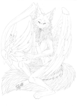 Angel Wolf remade thingy Fox by FeisuCakester