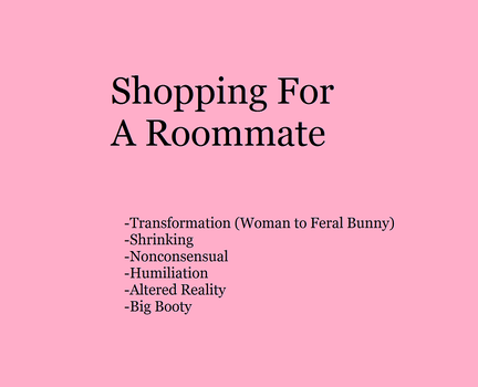 Shopping For A Roommate by Namazuros