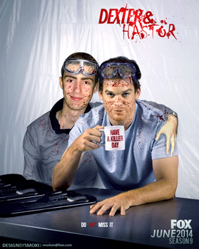 dexter morgan and my friend by sm0kiii