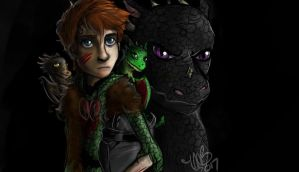 Hiccup the Third by InstantDoodles13
