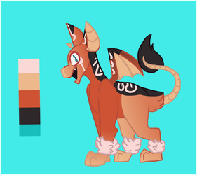 Drabat Mascot Contest Entry by SweetZtea