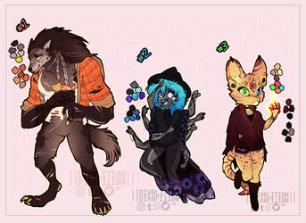 HALLOWEEN AUCTION ADOPTS| CLOSED by Divolition