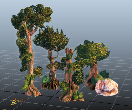 Twisted Trees v2 by Tigershark101