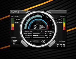 EVGA Precision X for xwidget by Jimking