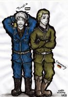 Potato Brothers - Prussia and  Germany by Schruppi
