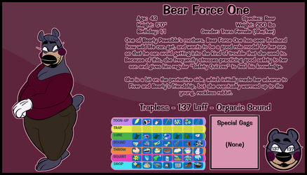 Bear Force One by minglermail