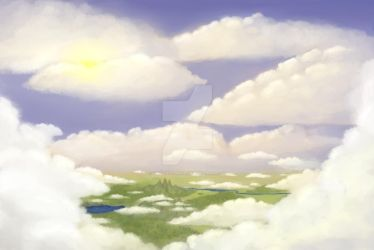 above clouds by Veylve