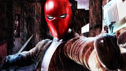 Red Hood Mask OBJ by 6and6