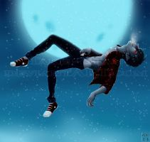 Cold Snow on my Cold Skin by Shun-Takei