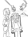 Request FNaF: Make Over by IddyBiddySquish