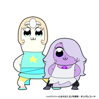 Steven Universe x Pop Team Epic by magdikulewe