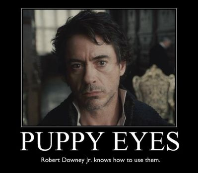 Puppy Eyes of RDJ by xCookie93