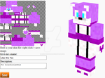 Lilac the Fox in Minecraft (Gift) by Erik-the-Okapi