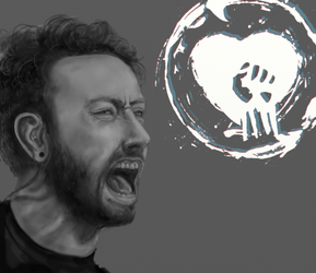 Tim McIlrath (quick study) by FrerinHagsolb