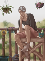 Yuri on Ice: Victor by Estelly