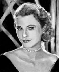 Princess Grace Kelly by Catluckey